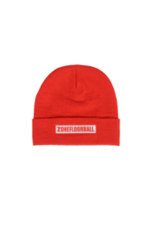Zone Low Key (19) Beanie Red/White -Pipo, Puna/musta