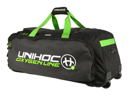 Unihoc Oxygen Line (19) Large gear Bag With Wheels -varustekassi renkailla