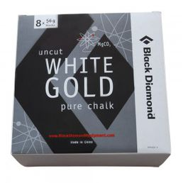 Black Diamond White Gold Magnesiumpala